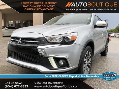 Cars For Sale Jacksonville Fl >> 2018 Mitsubishi Outlander Sport For Sale In Jacksonville Fl