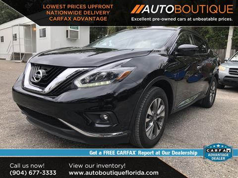 2018 Nissan Murano for sale in Jacksonville, FL