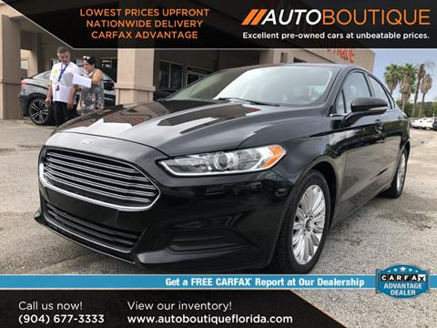 2015 Ford Fusion Hybrid for sale in Jacksonville, FL