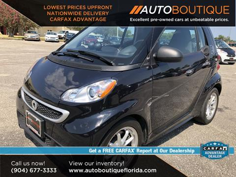 2016 Smart fortwo electric drive for sale in Jacksonville, FL