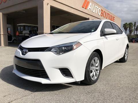 2016 Toyota Corolla for sale in Jacksonville, FL