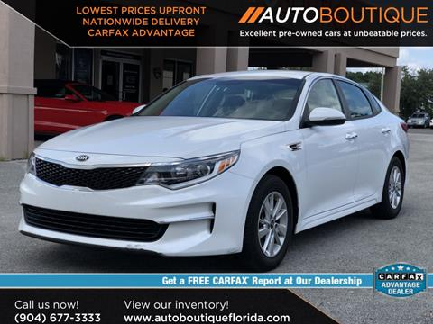 2018 Kia Optima for sale in Jacksonville, FL
