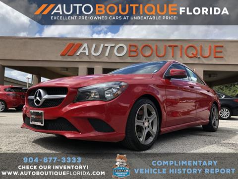 2014 Mercedes-Benz CLA for sale in Jacksonville, FL