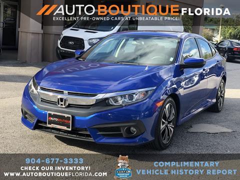 2016 Honda Civic for sale in Jacksonville, FL