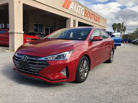 2019 Hyundai Elantra for sale in Jacksonville, FL