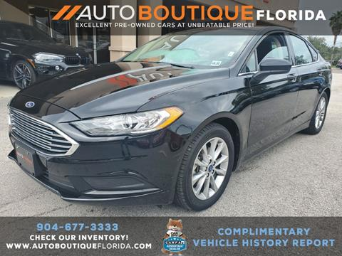 2017 Ford Fusion for sale in Jacksonville, FL