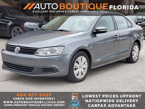 2014 Volkswagen Jetta for sale at Auto Boutique in Jacksonville FL
