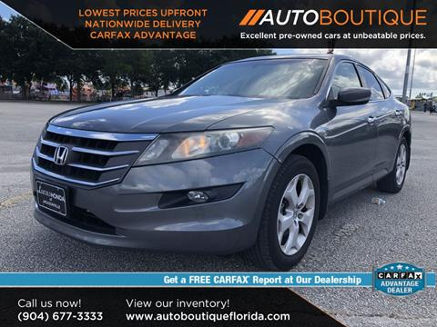 2010 Honda Accord Crosstour for sale at Auto Boutique in Jacksonville FL