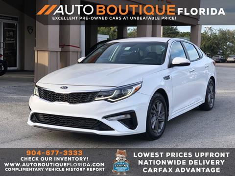 2020 Kia Optima for sale at Auto Boutique in Jacksonville FL
