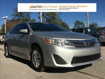 2014 Toyota Camry for sale in Jacksonville, FL