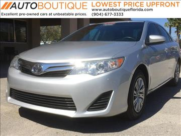 2013 Toyota Camry for sale in Jacksonville, FL