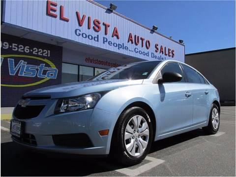 2012 Chevrolet Cruze for sale in Modesto, CA