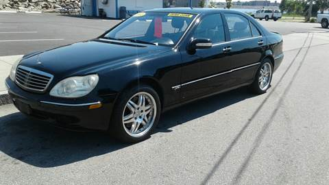 2002 Mercedes-Benz S-Class for sale at Nelsons Auto Specialists in New Bedford MA