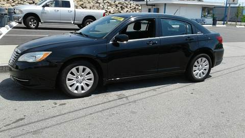2012 Chrysler 200 for sale in New Bedford, MA