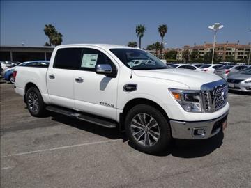 2017 Nissan Titan for sale in Costa Mesa, CA