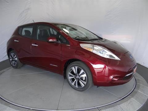2017 Nissan LEAF for sale in Costa Mesa, CA