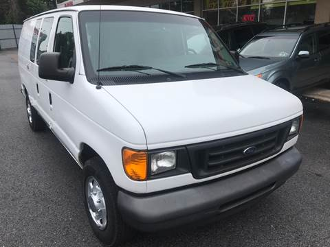 2005 Ford E-Series Cargo for sale at Trans Atlantic Motorcars in Philadelphia PA