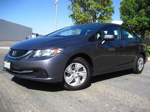 2015 Honda Civic for sale at Solutions Auto Sales Corp. in Orange CA