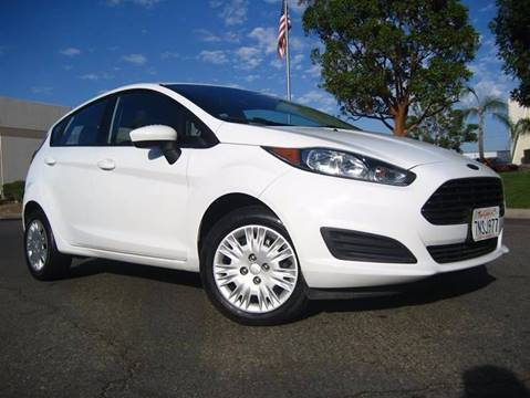 2016 Ford Fiesta for sale at Solutions Auto Sales Corp. in Orange CA