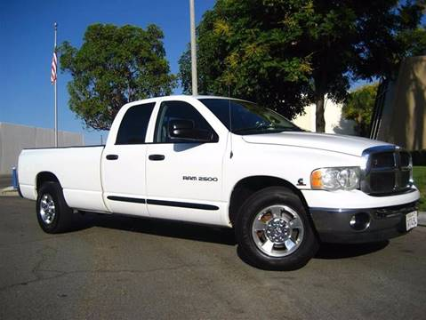 2005 Dodge Ram Pickup 2500 for sale at Solutions Auto Sales Corp. in Orange CA