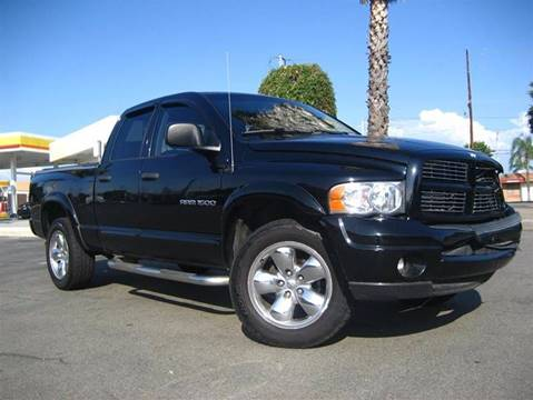 2004 Dodge Ram Pickup 1500 for sale at Solutions Auto Sales Corp. in Orange CA