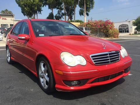 2005 Mercedes-Benz C-Class for sale at Solutions Auto Sales Corp. in Orange CA