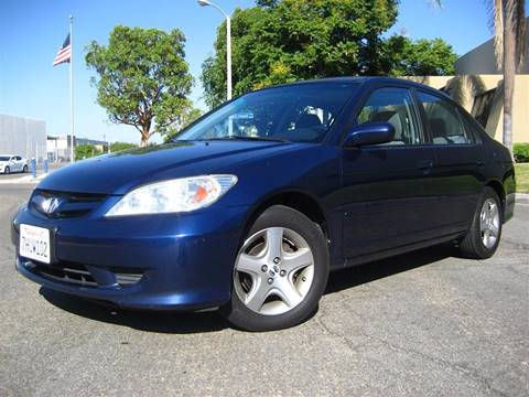 2004 Honda Civic for sale at Solutions Auto Sales Corp. in Orange CA