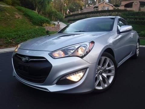 2013 Hyundai Genesis Coupe for sale at Solutions Auto Sales Corp. in Orange CA