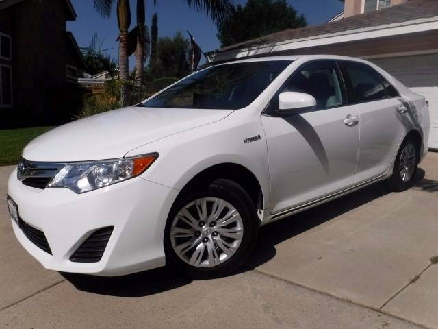 2014 Toyota Camry Hybrid for sale at Solutions Auto Sales Corp. in Orange CA