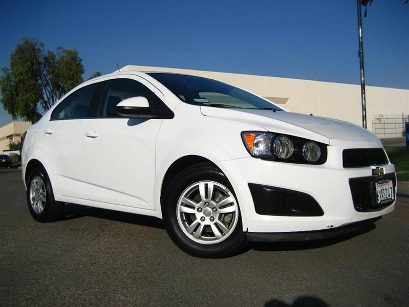 2012 Chevrolet Sonic For Sale At Solutions Auto Sales Corp. In Orange CA