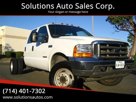 2002 Ford F-550 for sale in Orange, CA