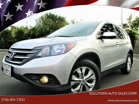 2012 Honda CR-V for sale in Orange, CA
