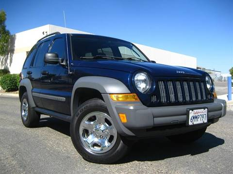 2005 Jeep Liberty for sale at Solutions Auto Sales Corp. in Orange CA