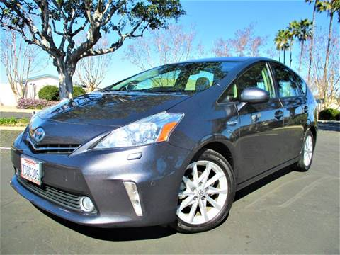 2014 Toyota Prius v Five for sale at Solutions Auto Sales Corp. in Orange CA