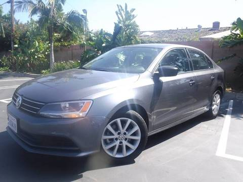 2015 Volkswagen Jetta for sale at Solutions Auto Sales Corp. in Orange CA
