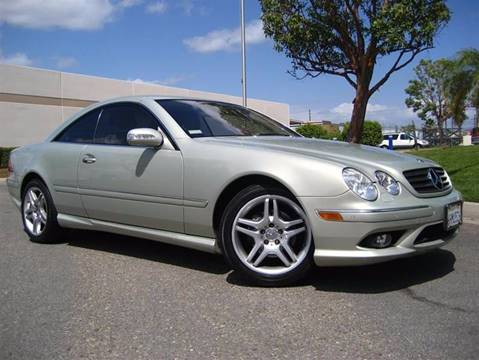2006 Mercedes-Benz CL-Class for sale at Solutions Auto Sales Corp. in Orange CA