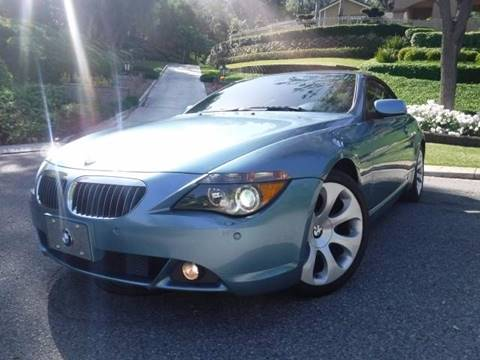 2006 BMW 6 Series for sale at Solutions Auto Sales Corp. in Orange CA