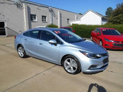 2017 Chevrolet Cruze for sale in Moundsville, WV