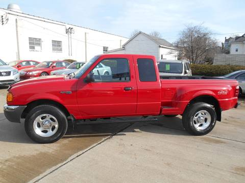 2001 Ford Ranger for sale at DALE'S PREOWNED AUTO SALES INC in Moundsville WV