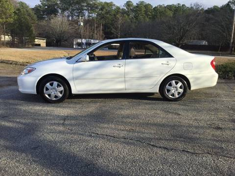 2002 Toyota Camry for sale in Fayetteville, GA