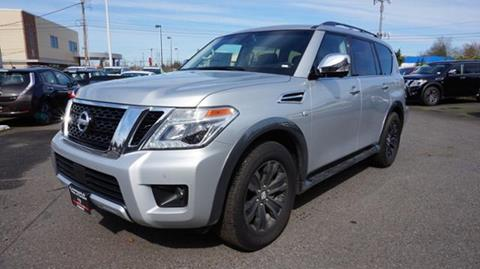 2017 Nissan Armada for sale in Portland, OR