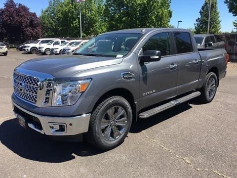 2017 Nissan Titan For Sale In Oregon Carsforsale Com