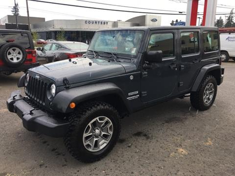 2017 Jeep Wrangler Unlimited for sale in Portland, OR
