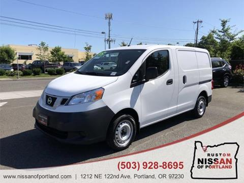 2015 Nissan NV200 for sale in Portland, OR