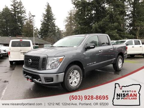 2019 Nissan Titan for sale in Portland, OR