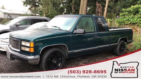 1998 GMC Sierra 1500 for sale in Portland, OR