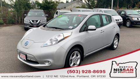 2015 Nissan LEAF for sale in Portland, OR