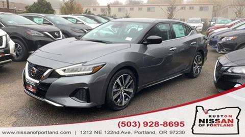 2020 Nissan Maxima for sale in Portland, OR