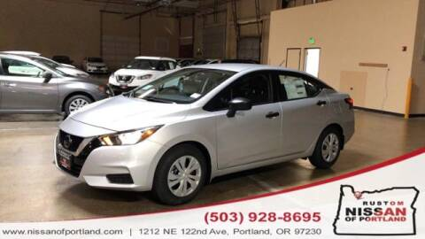 2020 Nissan Versa for sale in Portland, OR
