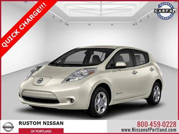 2014 Nissan LEAF for sale in Portland, OR